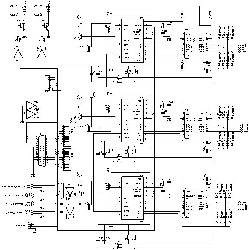 Контроллер шагового двигателя своими руками фото